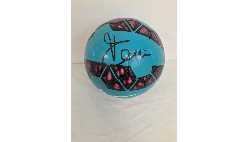 Official Serie A 2014/15 Football - Signed by Luca Toni