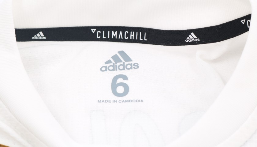 Bale's Real Madrid Match IssueWorn Shirt, Liga UCL 201819