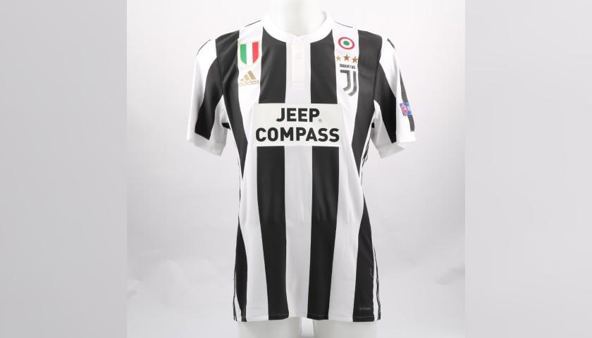 Matuidi's Match-Issue/Worn Shirt, Barcelona-Juventus - CharityStars