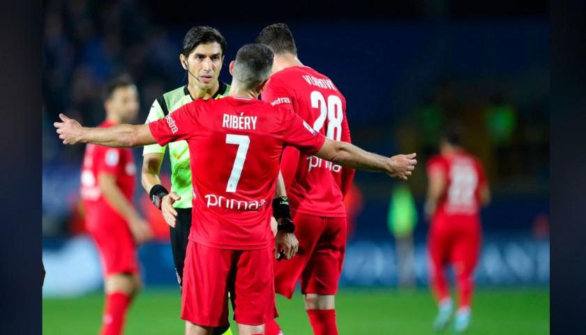 Ribery's Fiorentina Signed Match Shirt, 2019