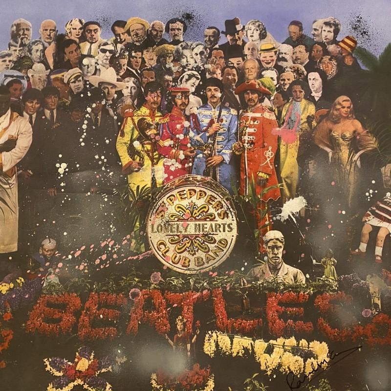 Paul McCartney Signed Sgt Pepper's Original Artwork