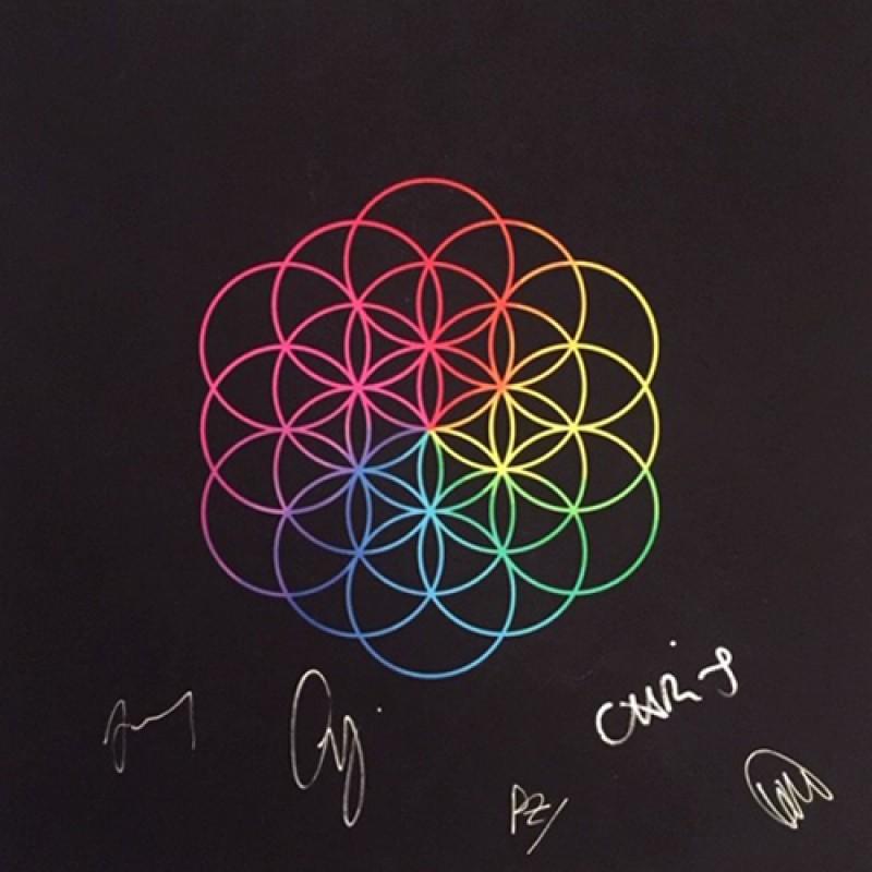 Stampa Giclée autografata dai Coldplay