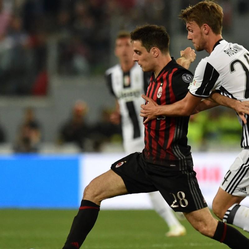 Rugani Match issued/worn Shirt, TIM Cup Final Juventus-Milan