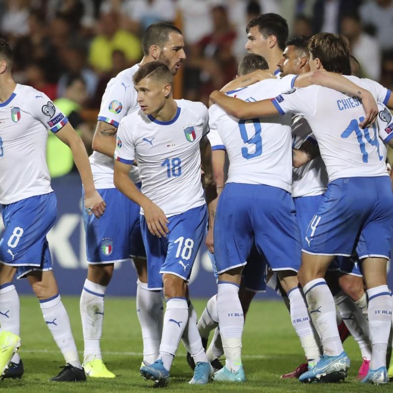 Immobile's Match Shirt, Armenia-Italy 2019