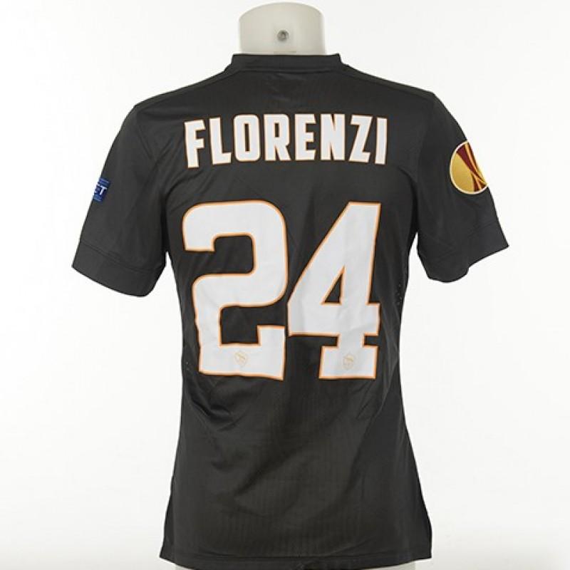 Florenzi's Match-Issued 2014/15 Feyenoord-Roma Shirt