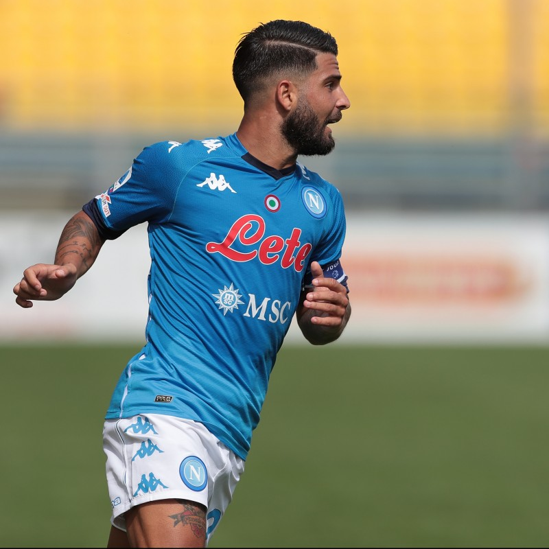 Insigne's Match Shirt, Parma-Napoli 2020 - #KeepRacismOut