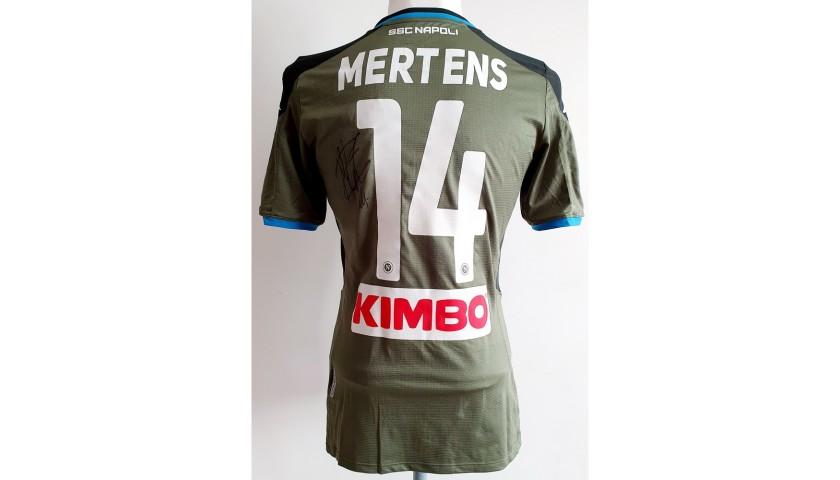 Mertens' Napoli Worn and Signed Shirt, 2019/20