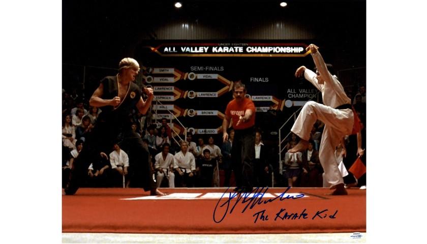 "Ralph Macchio Hand Signed ""The Karate Kid"" Photograph"