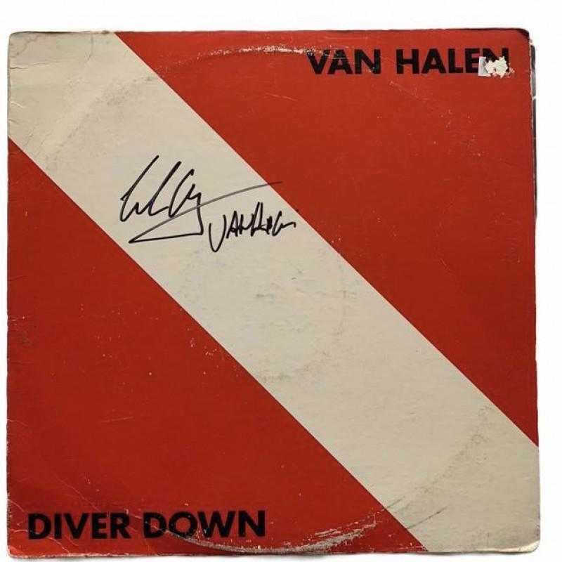 Eddie Van Halen Signed Diver Down Vinyl LP