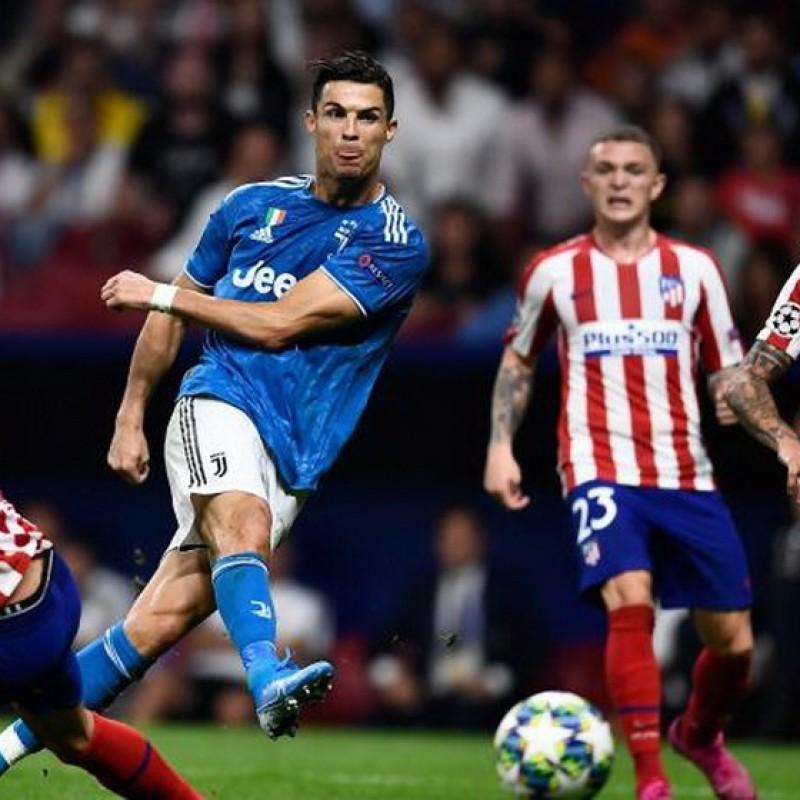 Match-Ball Atletico Madrid-Juventus 2019 - Signed by Ronaldo