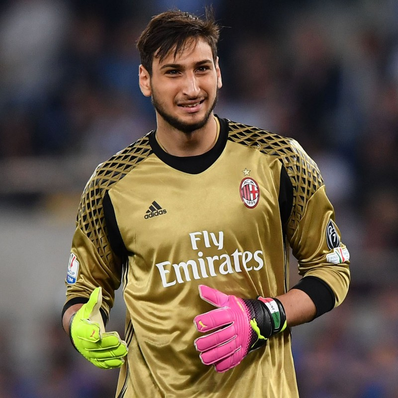 Donnarumma Match-Issued Shirt, 2016 TIM Cup Final