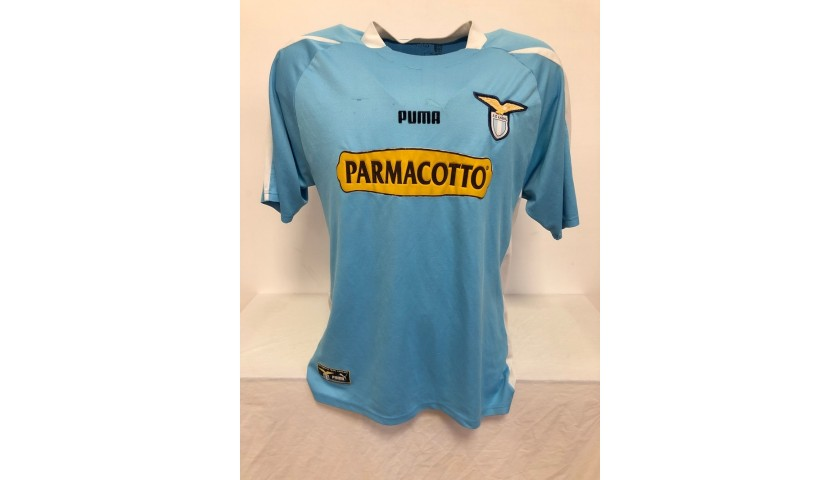 Cesar's Official Lazio Signed Shirt, 2003/04