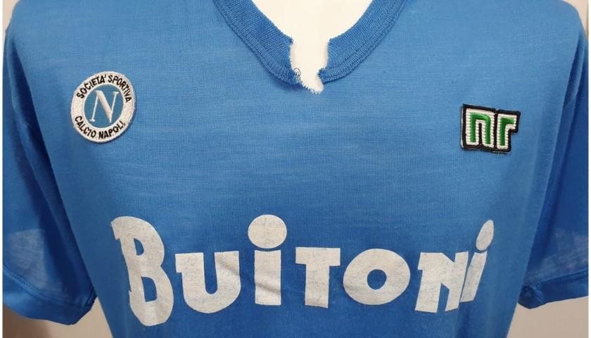 Maradona's Napoli Signed Match Shirt, 1986/87