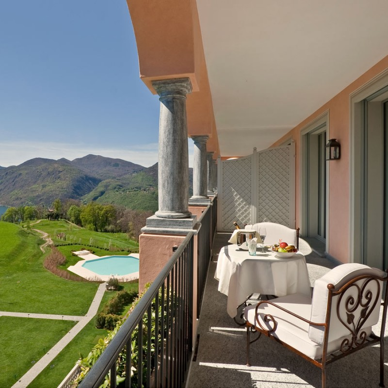 Relax at Collina D'Oro Spa and Fitness Resort in Lugano, Switzerland