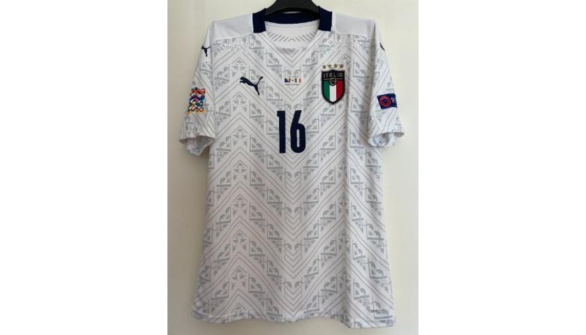 Florenzi's Match Shirt, Bosnia-Italy 2020