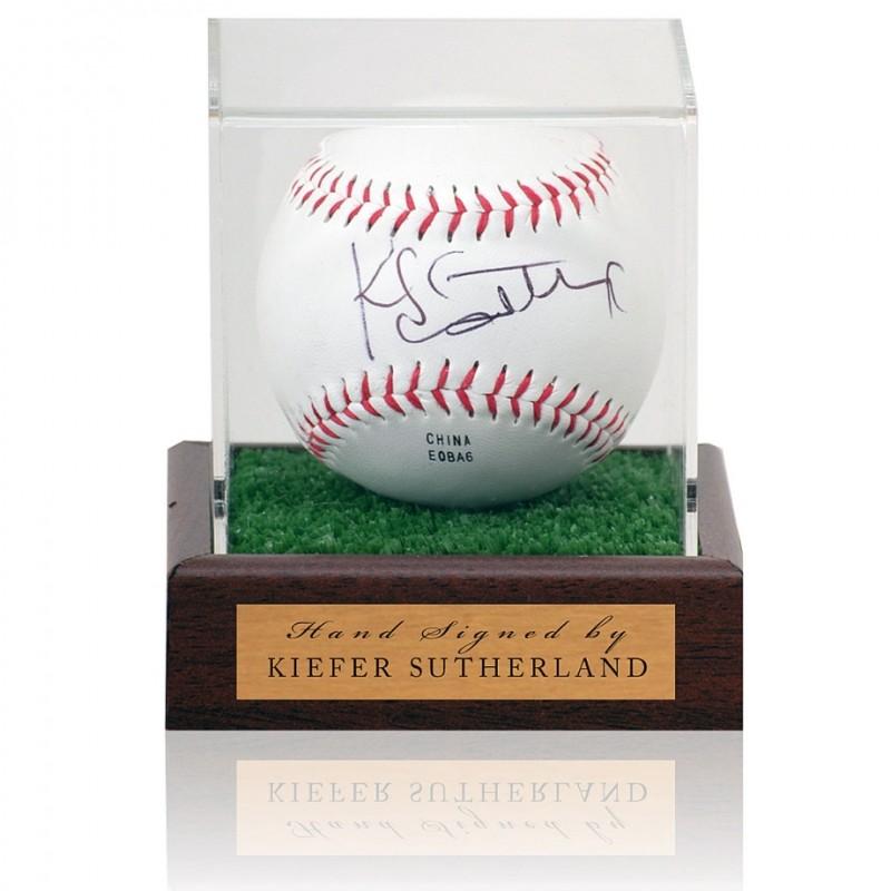 Kiefer Sutherland Hand Signed Baseball