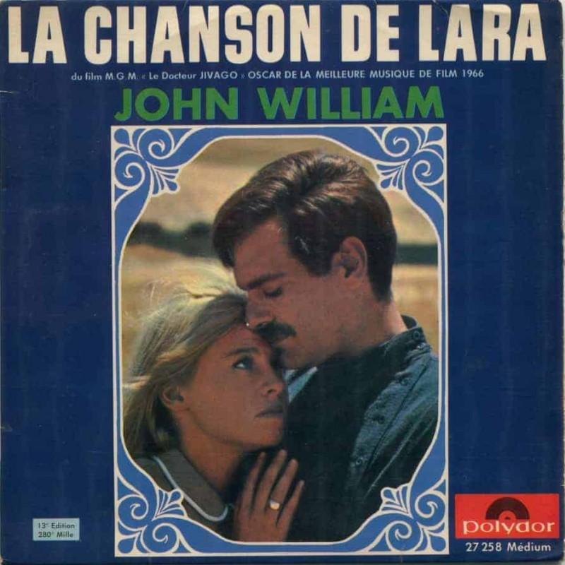 """La chanson de Lara (Doctor Zivago)"" Vinyl Single - John William, 1966"
