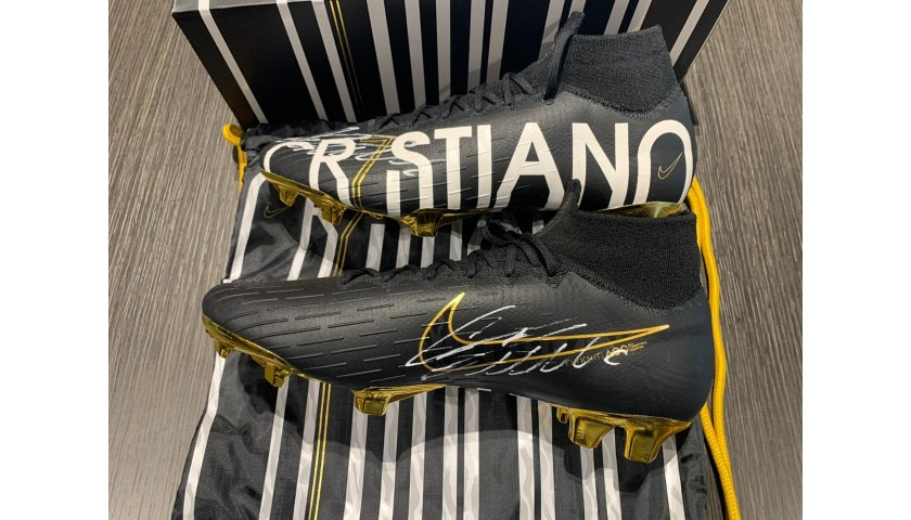 Nike CR7 Boots - Signed by Cristiano Ronaldo