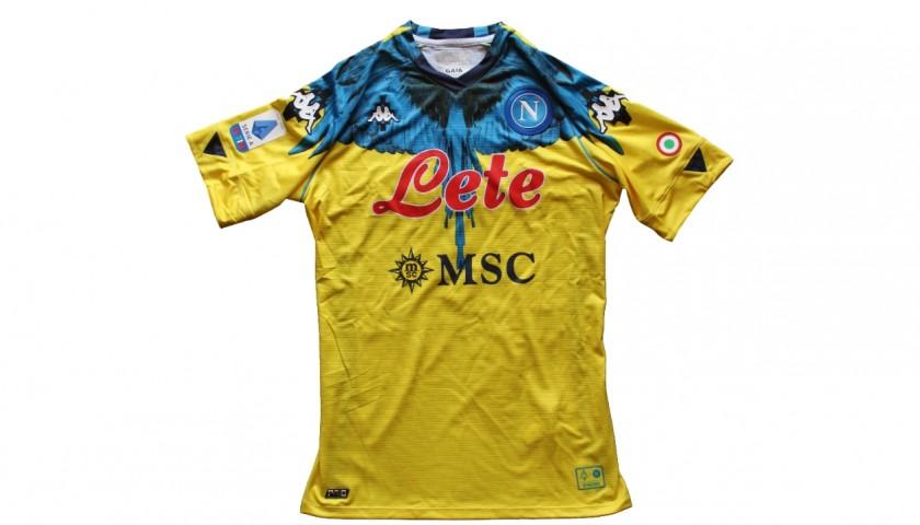 Meret's Official Napoli Shirt, Marcelo Burlon 2021