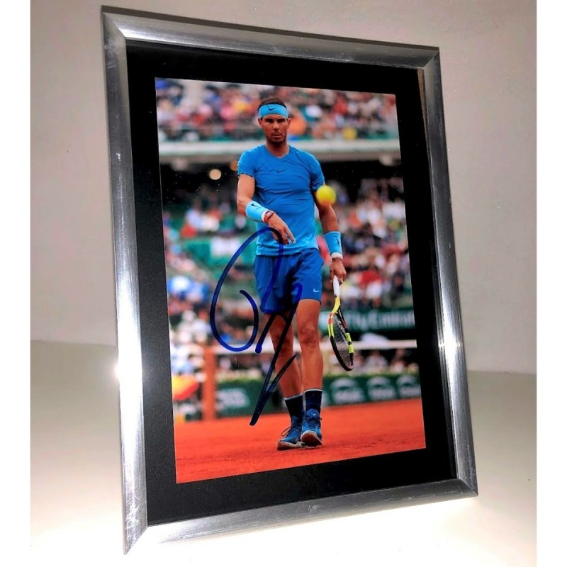 Rafa Nadal Signed Photograph