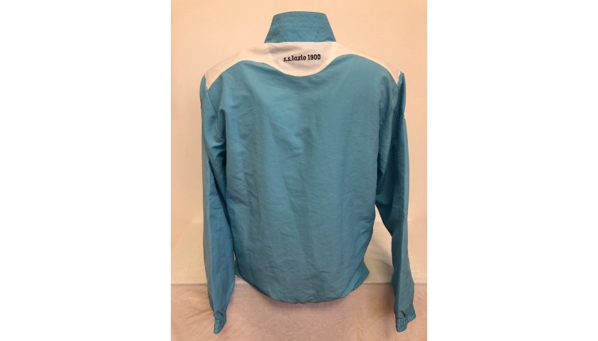 Lazio Official Track Jacket Signed by Lulic