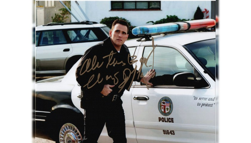 Photograph Signed by Actor Matt Dillon