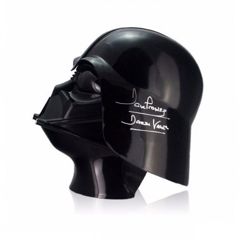 Darth Vader Signed Star Wars Helmet