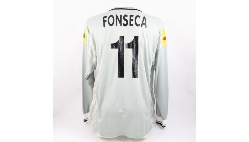 Fonseca's Juventus Match Shirt, Serie A 2000/01