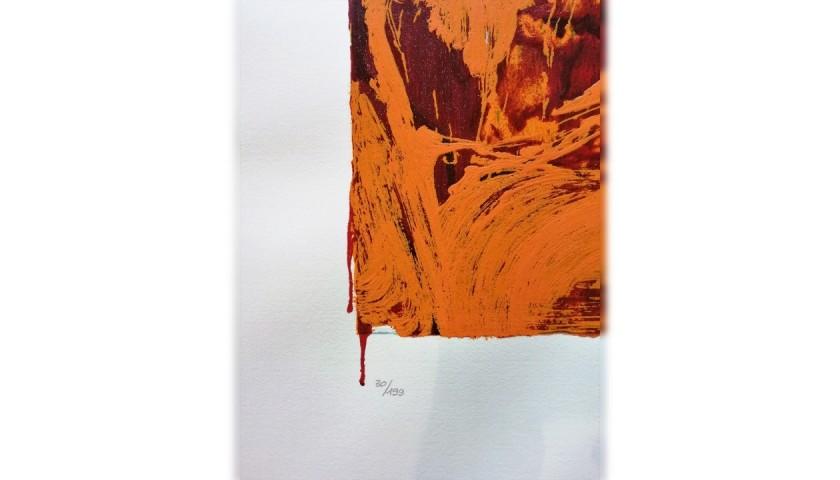 """Untitled"" by Mario Schifano"