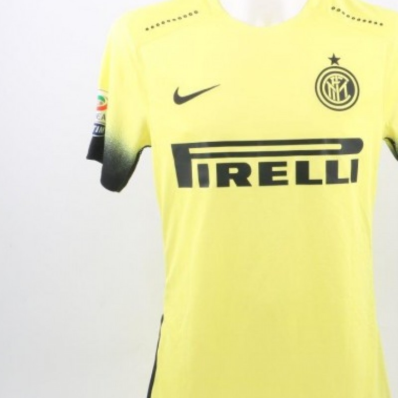 Perisic Inter shirt, issued/worn Serie A 2015/2016
