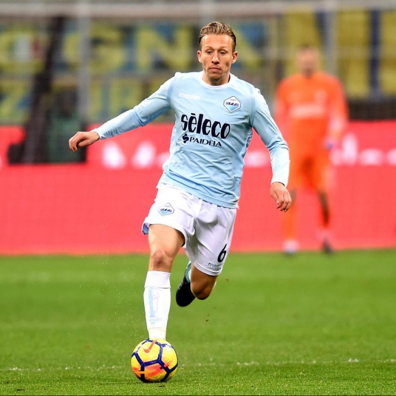 Leiva's Match Shirt, Inter-Lazio 2017