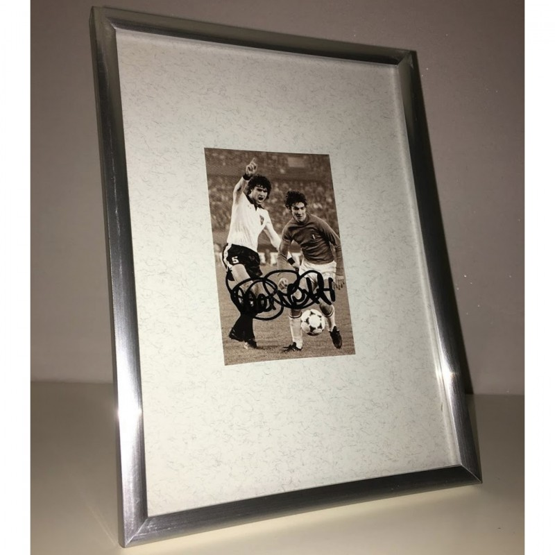 Paolo Rossi Signed Photograph