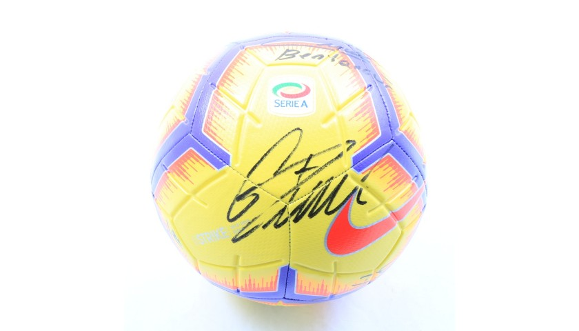 Official Serie A 2018/19 Football - Signed by Juventus players