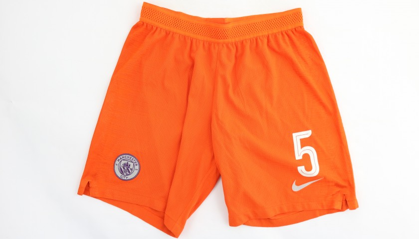 Stones' Manchester City Match Shorts, Champions League 2018/19
