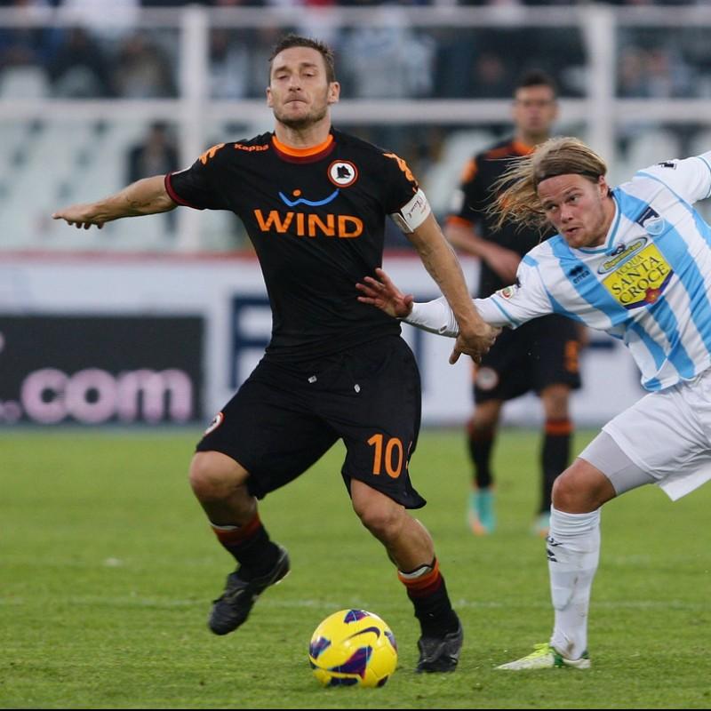 Maglia Totti Roma, preparata 2012/13 - Autografata