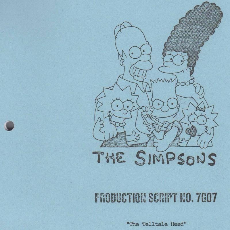 Simpsons Original Script