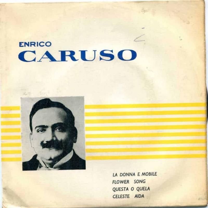 """""""Flower Song"""" Vinyl Single - Enrico Caruso, 1963"""