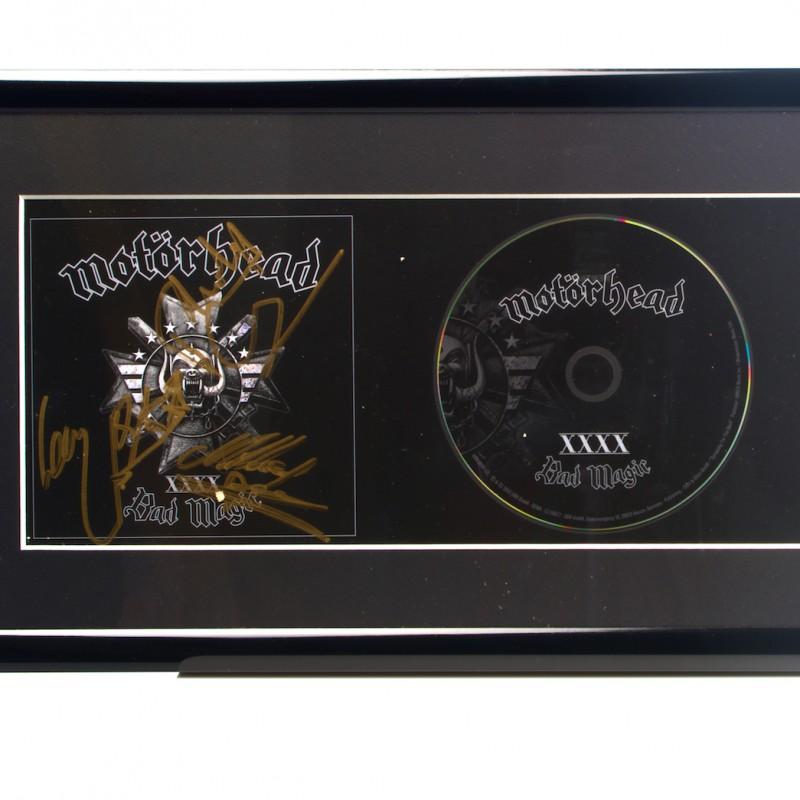 Signed Motorhead Presentation Disc
