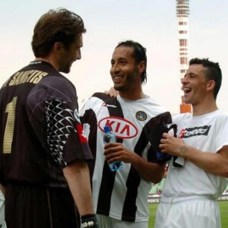 Gheddafi's Official Udinese Signed Shirt, 2005/06