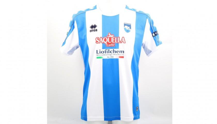 Capone's Match-Worn Salernitana-Pescara Shirt, 2017/18 ...