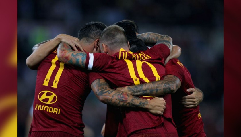 Enjoy Roma-Viktoria Plzeň match from the Monte Mario Stand