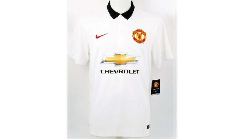 Mata's Official Man United Signed Shirt, 2014/15