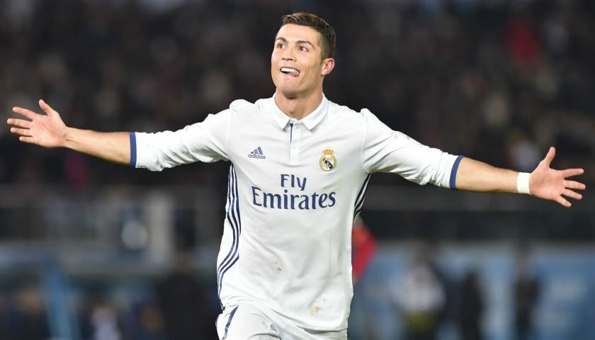 Signed Cristiano Ronaldo 2016/2017 Home Jersey