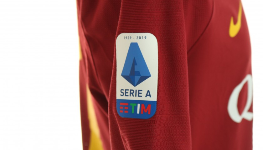 Veretout's Worn and Signed Shirt, Roma-SPAL 2019