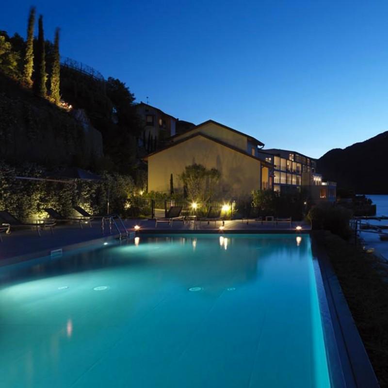 Cena per 4 sul Lago di Como presso il Filario Hotel