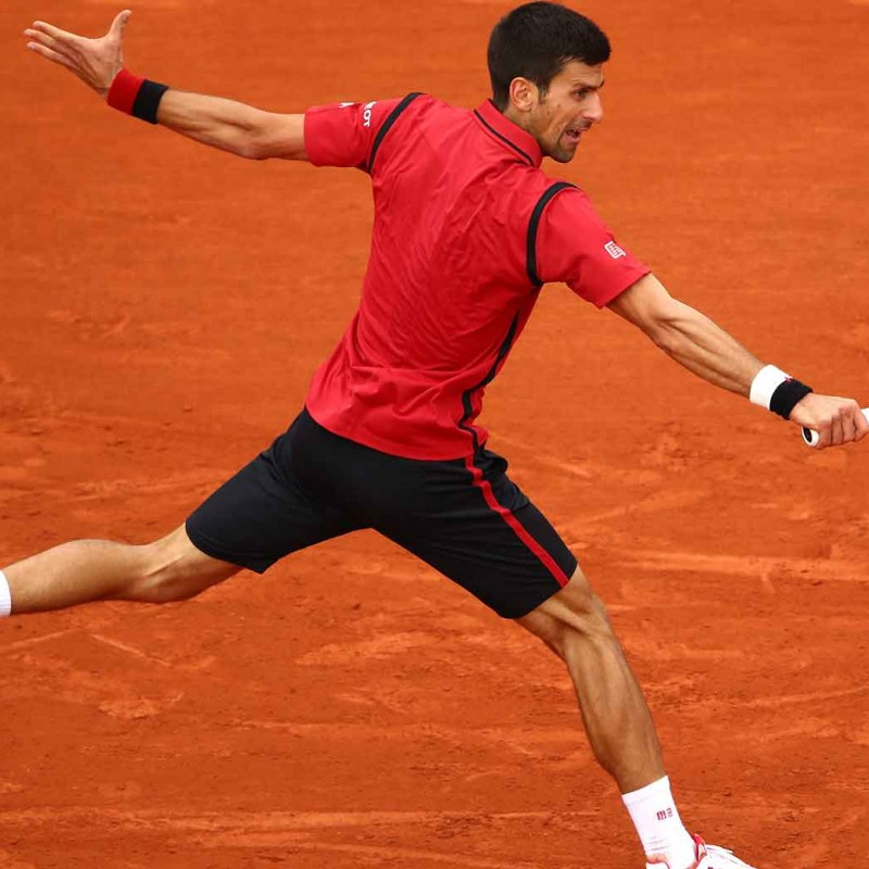 Novak Djokovic's Roland Garros shoes