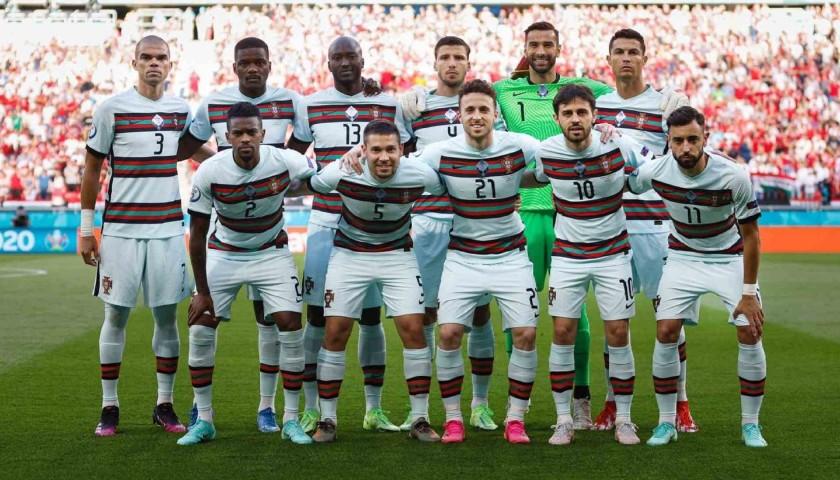 Bernardo Silva's Match Shirt, Hungary-Portugal 2021