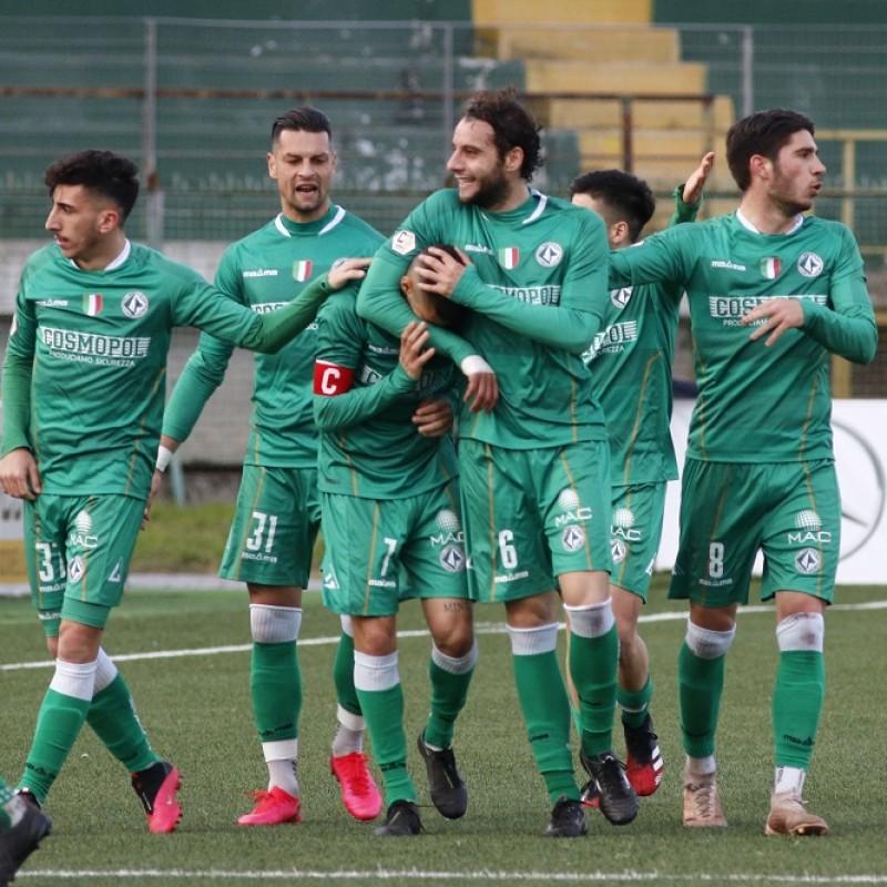 Pozzebon's Avellino Match Shirt, 2019/20