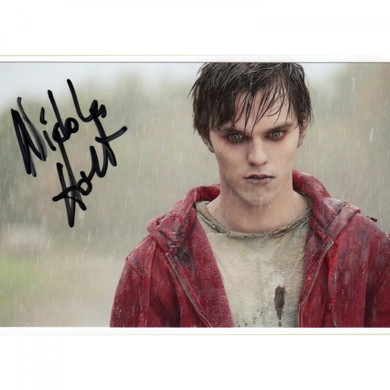 Warm Bodies Photograph Signed by Nicholas Hoult
