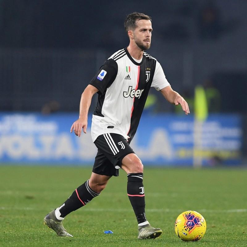 Pjanic's Worn Shirt, Juventus-Lazio 2020